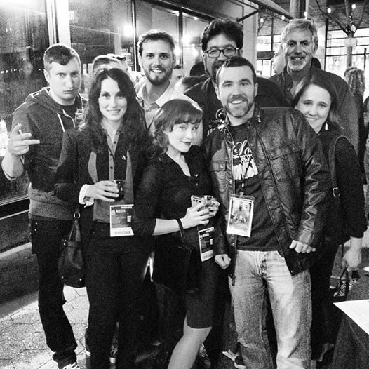 Pre-funking at the Cinequest VIP Mixer with some of our favorite people!