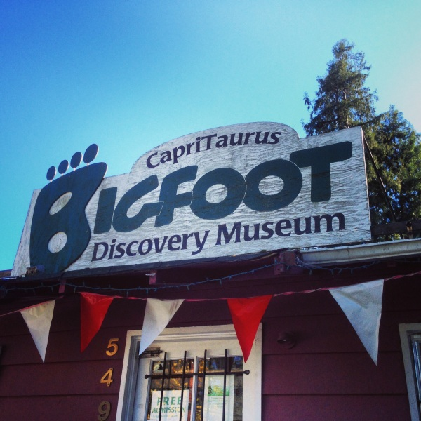 The Famous Bigfoot Museum in Felton, CA!