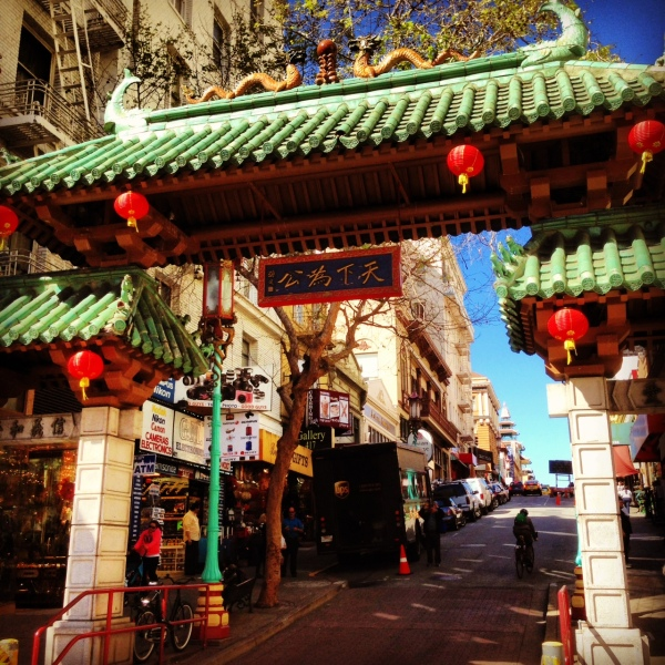 "Had to go to Chinatown, home of one of my favorite movies ""Big Trouble In Little China""!"