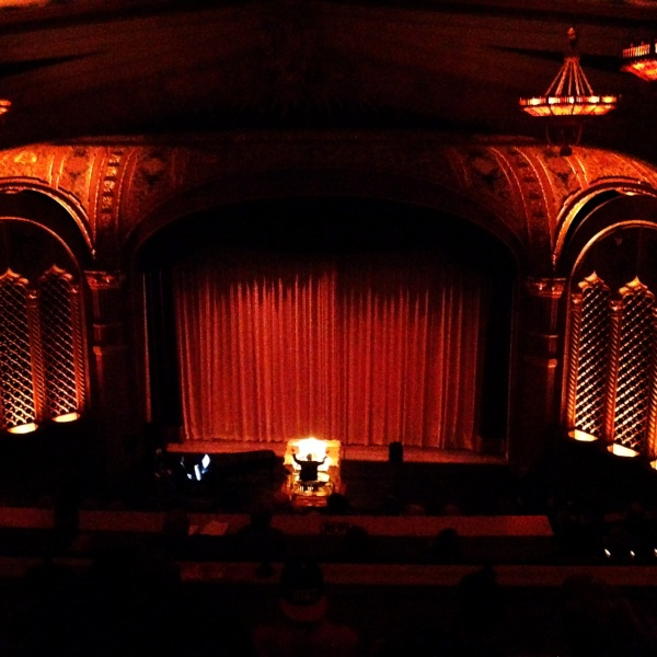 "Live organ accompaniment during a screening of the classic 1924 silent film ""The Hands Of Orloc"" at the beautiful California Theater."
